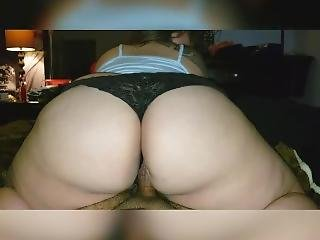 My Milf Wife & Her Big Booty - Riding, Moaning & Groaning