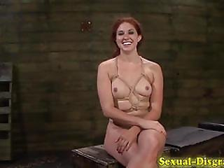 Bdsm Subs Pussy Caned