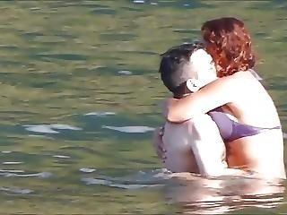 Amateur Couple Playing At Beach Madeira Island Seixal?from=video Promo