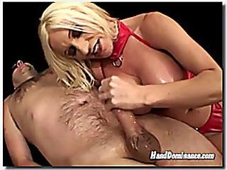 Dominatrix Squeeze The Cum