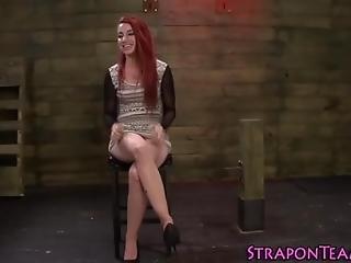 Shibari Slave Slapping
