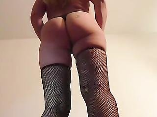 Lingerie And High Heels Toy In My Huge Ass Big Booty Fuck Milf Loves Anal