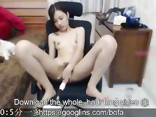 Hot Chinese Girl Masturbates On Cam