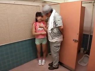 asiatisk, japansk, liten, Tenåring, ung