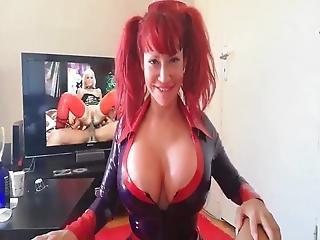 Bianca B Latex Blowjob