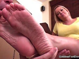 Goddess Foot Domination: Delivery Deal