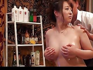Slimming Massage For Busty Japanese Wives 3
