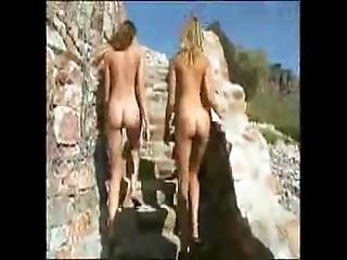 Nudist Sisters At Home