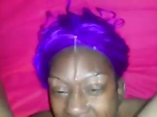 Throat Fucking Ebony