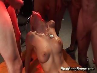 Wild Chicks Extreme Gangbanged
