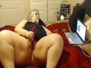 Cute Bbw Girl Orgasm On Webcam