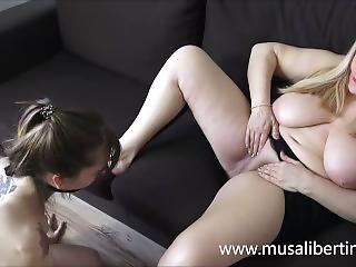 My Stepmother Punishes And Fucks Me - Old And Young Lezdom Lesbians