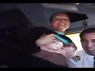 Flight Attendant Stips For The Captain