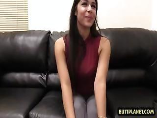 Latin Teen Casting With Facial