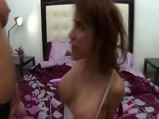 Busty Lesbian Actually Loves It This Hard From Her Friend