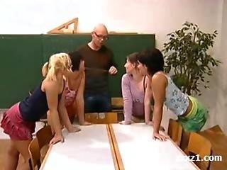 reverse gangbang for schoolgirls