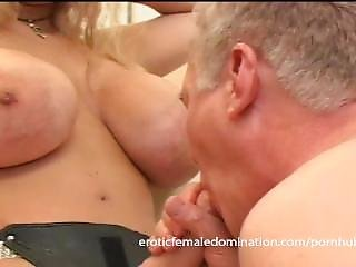 Busty Milf Dominatrix Humiliates Her Slave With Some Hardcore Pegging
