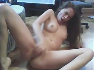 Kiara Fingering On The Floor