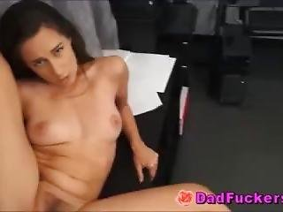 Kinky Latino Stepdaughter Fucks Stunned Stepfather