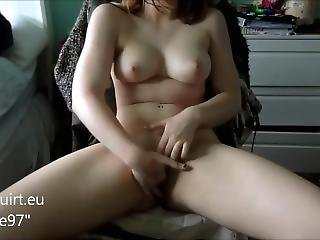 Beautiful Girl Masturbating On Webcam