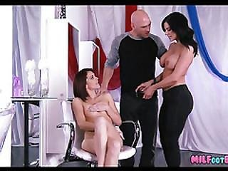Three Way At The Salon