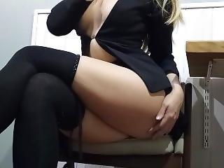 Slutty Secretary Wants To Fuck Boss