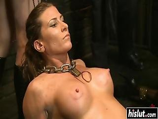 Ariel X And Other Girls Take Turns At Drilling Each Other's Pussies