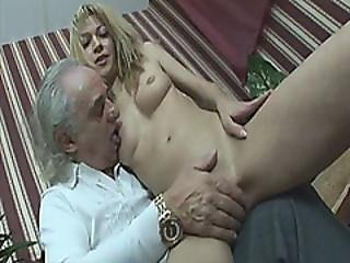 Slutty Teen Is Riding An Old Fuckers Dick Hardcore