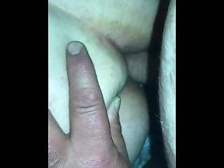 Wife's Ass...finally!!!..is Quick But I'm In!!