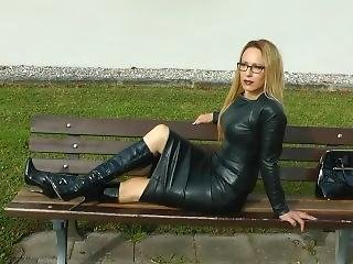 German Leather Woman 9