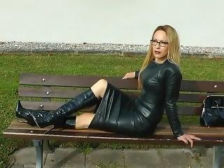 German Leather Woman 9