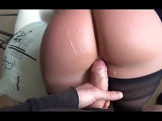 Big Cumshot On A Sexy Realdoll