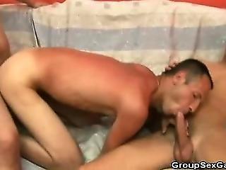 Hot Roommates Having A Threesome