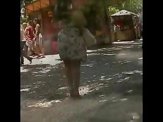 Mexican Blonde Big Ass In Street
