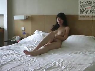 Chinese Model Fucking Photographer For Job