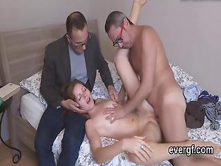Poor Lover Lets Hot Mate To Ride His Ex Girlfriend For Hard Cash
