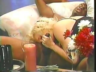 Melanie Moore - Tall Blonde Romantic Sex With Black Man