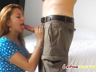 Sexy Latina Louisa Gets Pussy Drilled After Giving Sensual Blojwob