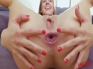 Analized   Skinny Teen Slut Alexis Crystal   Anal Fisted And Full Nelson%21