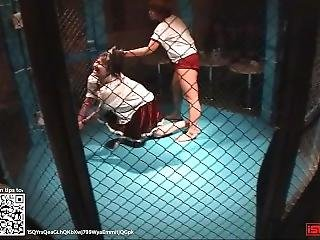 Wrestling 0008; Japanese Girl Cage Match
