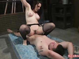 Hot Domina Chanel Preston Pegs Guy
