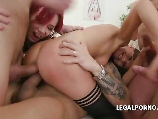 Porno anální gangbang