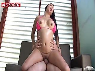 Latina Picked Up And Fucked Hardcore Colombian