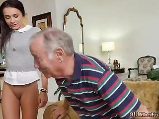 Strong Woman Blowjob Riding The Old Wood!
