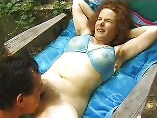Hairy Milf Gets Fucked