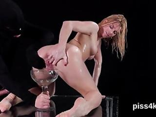 Ideal Chick Is Geeting Pissed On And Squirts Wet Pussy