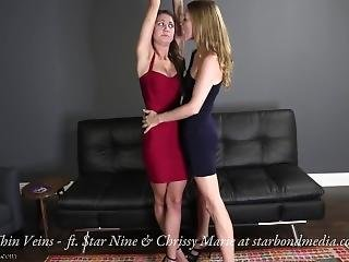 Thin Veins - Vampire Fetish - Chrissy Marie & Star Nine - Trailer