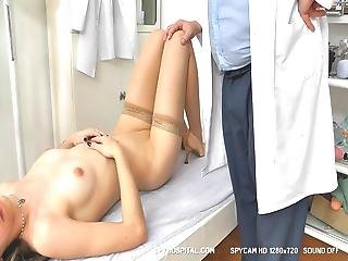 Skinny Teen Physical Exam On Spy Video