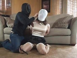 Vivian Gagged And Hooded