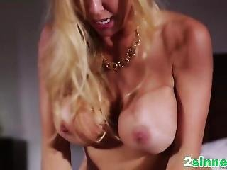 Big Titted Blonde Milf Getting Banged By A Horny Husband